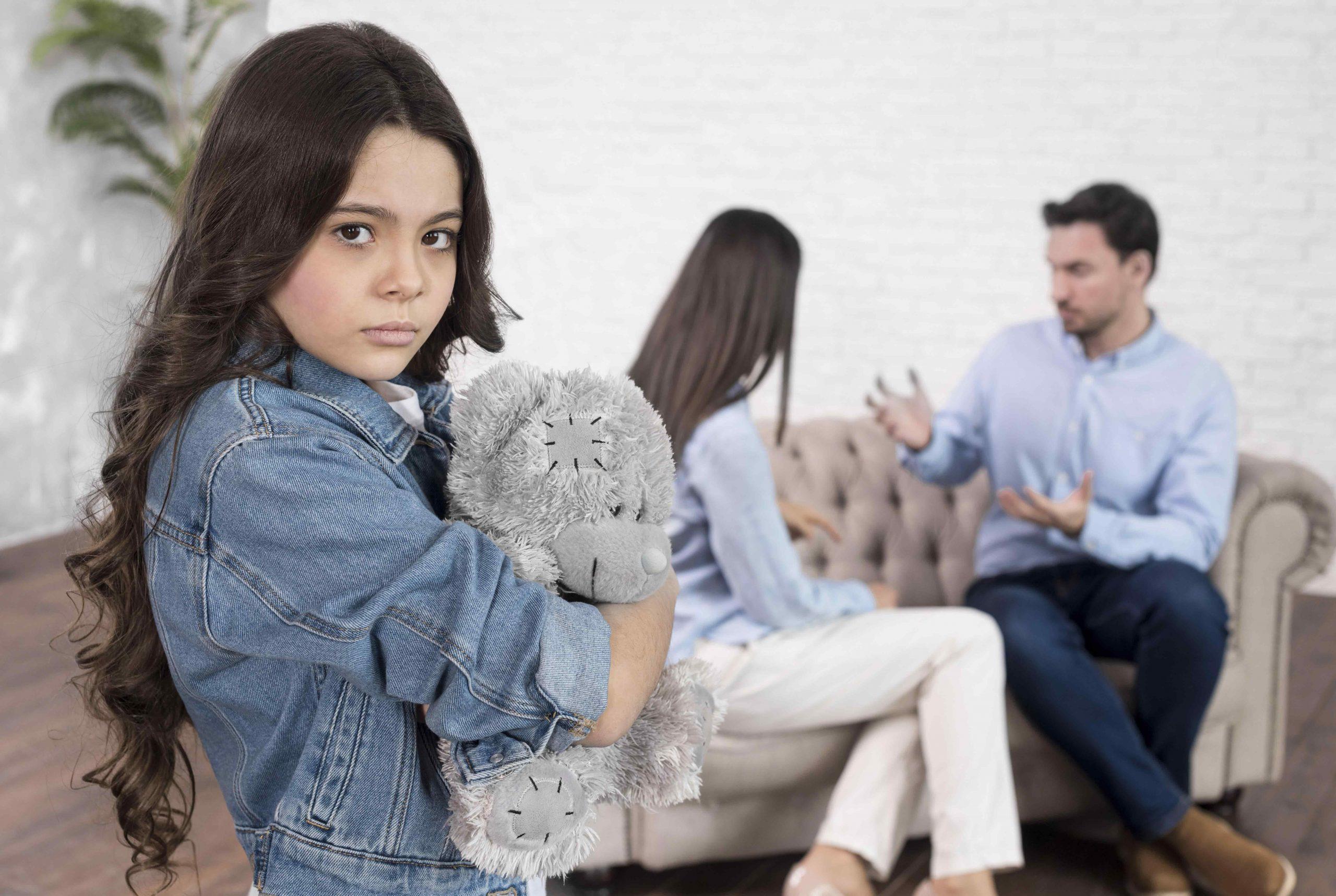 Trastorno emocional en la separación de los padres